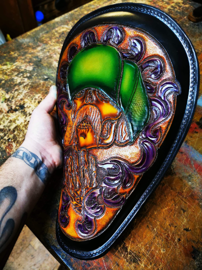 Chicano Motorcycle solo seat